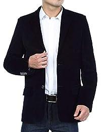 Chaqueta De Pana para Hombre Elegante Formal Esencial Algodón De Chaqueta De La Chaqueta De Los Hombres Chaquetas De Traje Ajustado Chaquetas De Ocio con Estilo Chaqueta De Los Hombres Ocasionales