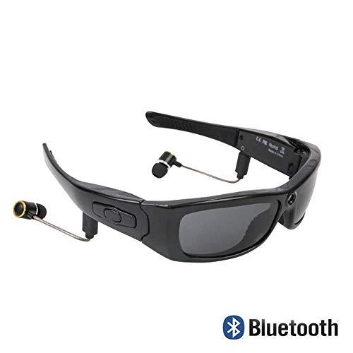 ZENWEN Smart Bluetooth Kamera Brille, Stereo-Sonnenbrille Weitwinkel 1080p Grad und allgemeine Männer können Frauen Musik nennen. Lärm Reduktion Sprache wählen ziehen Zwei Wireless