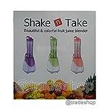 TrAdE shop Traesio Mini batidora Shake N Take Frulla Frutas Frappe helado