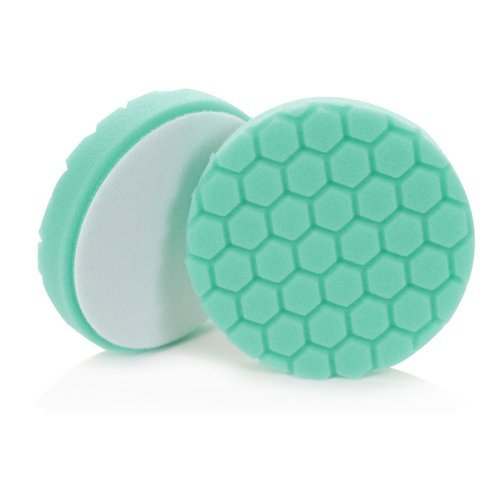 03_HEX5 Hex-Logic Heavy Polishing Pad, Green (5.5 Inch) by Chemical Guys (Chemical Guys Polishing Pad)