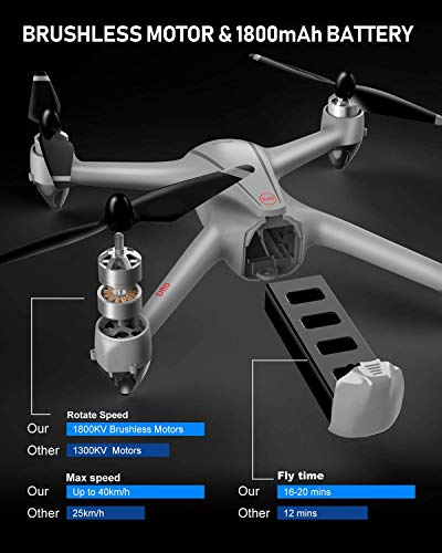 Zoom IMG-3 drone gps con motore brushless