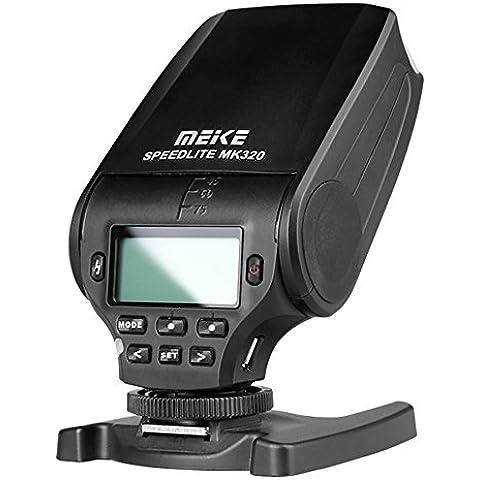 Meike MK320 TTL Master GN32 Flash Speedlite para Nikon J1 J2 J3 D7100 D5300 D5100 D5200 D5000 D3300 D3200 D3100 D750 D810 D550 Cámaras