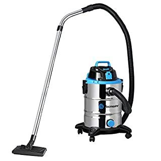 Vacmaster Power 30 PTO Wet and Dry Vacuum Cleaner with Power Take Off - Stainless Steel