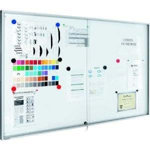 Legamaster Vitrine Premium Tableau blanc pour les intérieur 69x 5x 95blanc