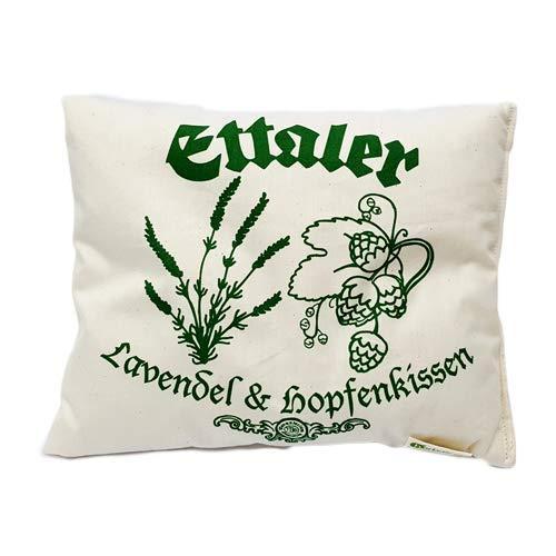 Original Ettaler Kloster Lavendel - Hopfen - Kissen Aromatherapie, Entspannung und Einschlafhilfe -