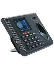 Universal Prime Realtime C101 Biometric Attendance Machine with USB Excel (Black)