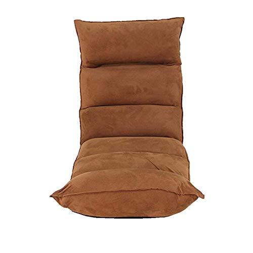 TUONALRSF Bequem Bodenstuhl Gaming Seat- Folding Sofa, Tatami Fauler Couch Einzelschlafzimmer Wohnzimmer Mini Schöne Freizeit Balkon Lehnstuhl