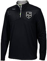 Reebok Center Ice Baselayer 1/4 Zip NHL Jacke LA Kings