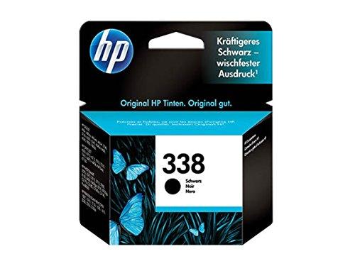 Tintenpatrone–HP 338–Schwarz–Original–Tintenpatrone–für Officejet...