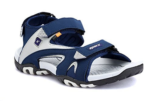 Sparx Men's BLGY Sandals-8 UK/India (42 EU) (SS0453G)