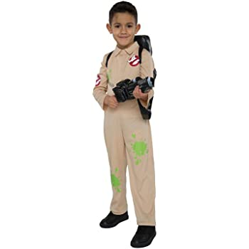 george officially licensed ghostbusters fancy dress halloween costume aged 11 12 years with proton pack