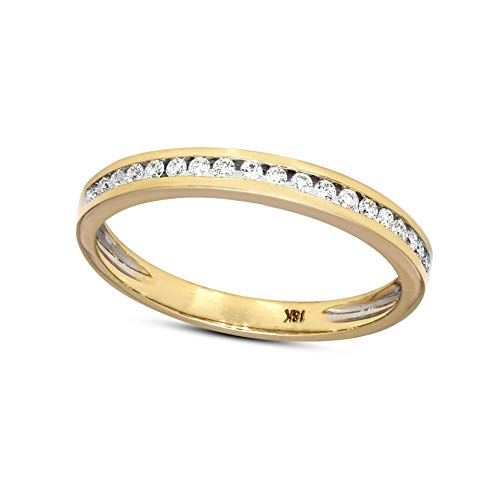 Natürlicher Diamant Mütter Tag Geschenke 0.13ct Diamant Ring Zum Frau I2-Klarheit 9k Gold Diamant Schmuck Geschenke Zum Frau G-H Farbe 100% Echt Diamant (Ring Rose Gold Diamond 10k)