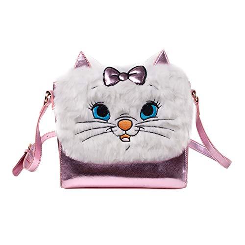 Bioworld Disney The Aristocats Marie Shaped Shoulder Bag with Shoulder Strap Koffer 24 Centimeters 5 Pink -