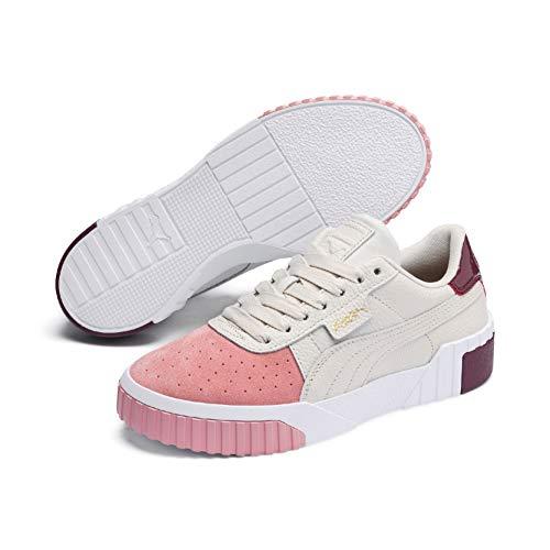 PUMA Damen Cali Remix WN's' Sneaker, (Pastel Parchment-Bridal Rose 01), 38.5 EU - Damen Zweifarbige