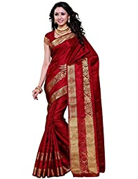 Mimosa Women's Silk Saree (2092-Sd-Mrn_Maroon)