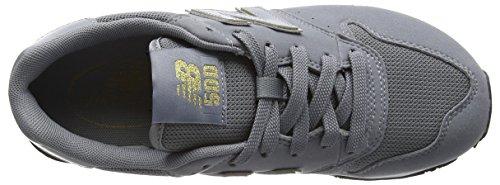 New Balance Damen GW500 Sneaker, Grau (Grey/gold/GW500GKG)