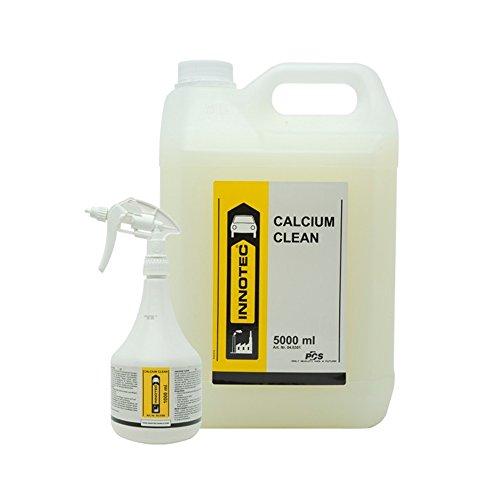 Innotec Calcium Clean Kalk-/Flugrostentferner Kalklöser Kalkreiniger Entkalker Rostlöser , 5 Liter Kanister