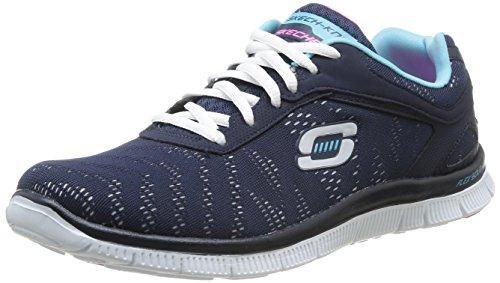 Skechers Flex Appeal First Glance, Chaussons Sneaker Femme