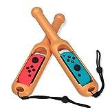 Likecom Drum Stick für Nintendo Switch Joy-Con,Twin Pack Drum Stick Taiko Hammer Controller Griffe für Nintendo Switch Joy-Con Controller und Switch