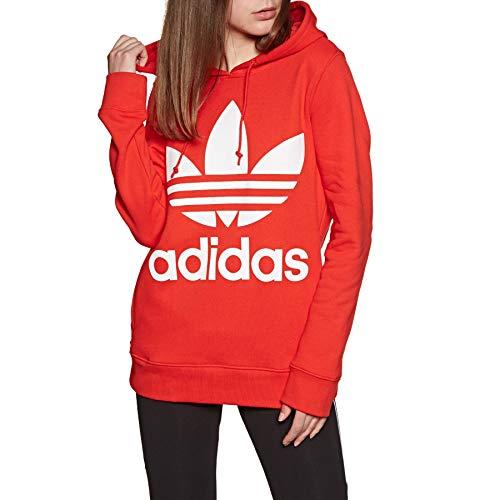 Adidas Originals Trefoil Hoody (adidas Originals Trefoil Pullover Hoody UK 14 Reg Active Red)