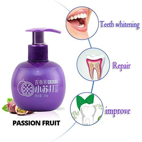 Gesunde Whitening Zahnpasta (Tensay Fleckenentfernung Whitening Zahnpasta Kampf Zahnfleischbluten Zahnpasta, Backpulver Presse Typ Whitening Zahnpasta Entfernen Sie Gelb und Mundgeruch, beste Geschenk für Familie gesunde Pflege)