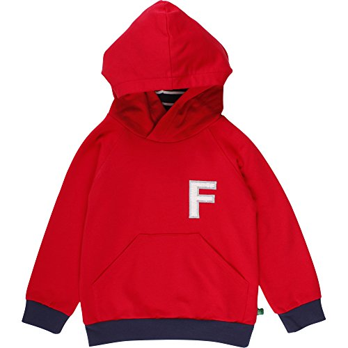 Fred's World by Green Cotton Baby-Mädchen Sweatshirt Sweat Hood, Rot (Red 019176206), 98