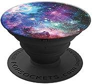 PopSockets PopGrip - [Nicht Austauschbarer] Ausziehbarer Sockel und Griff für Smartphones and Tablets - Blue Nebula