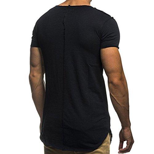 Venmo-Hombre-Personalidad-Camisetas-Deporte-Ropa-Deportiva-Camisa-de-Manga-Corta-de-Camuflaje-Slim-fit-Casual-Para-Hombres-Tops-Blusa-T-Shirt-Crew-Neck-Tee