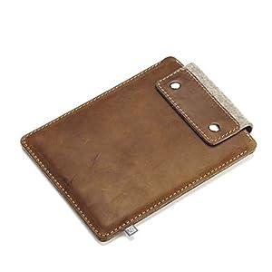 iPad-Huelle/Schutzhuelle (Leder/Wollfilz) 7,9