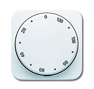busch jaeger abdeckung f r zeitschaltuhr 120 minuten. Black Bedroom Furniture Sets. Home Design Ideas