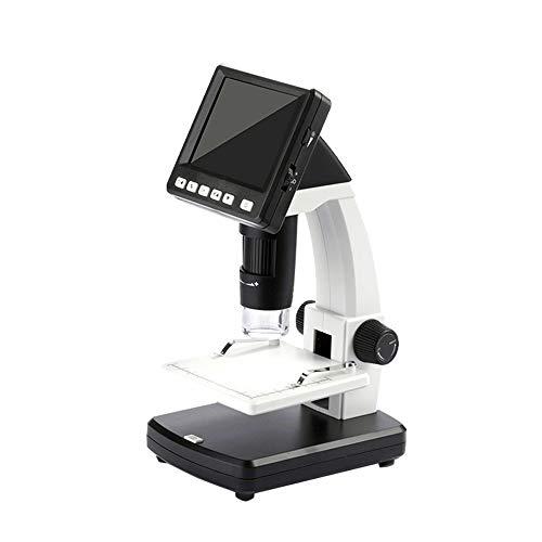 GJY 2000-mal biologisches Mikroskop LED-Lichtquelle hochauflösende, tragbare elektronische Anzeige, sofortiges Schießen 5 Millionen Pixel digitales Mikroskop, Ultra klares Imaging-Instrument Digitale Multifunktions-imaging