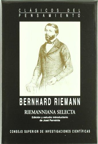 Riemanniana selecta (Clásicos del Pensamiento)