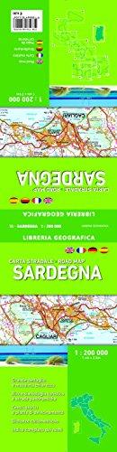 Carta Stradale della Sardegna 1: 200 000