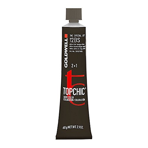 Goldwell Topchic Hair Color Coloration 2 + 1 (Tube) 12BS Ultra Bld. Beige Silver by Goldwell