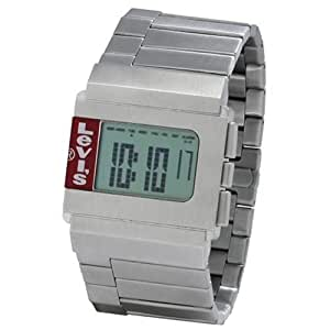 Levi's Unisex Digital Stainless Steel Bracelet Chronograph Watch