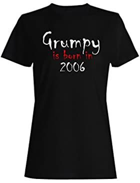 Grumpy nace en 2006 camiseta de las mujeres c263f