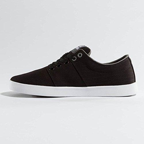 Supra Stacks Ii, Sneakers Basses mixte adulte Noir