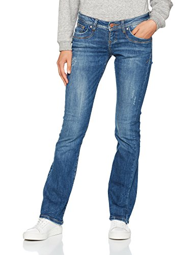 LTB Jeans Damen Bootcut Jeans Valerie, Blau (Ceciane Wash 50359), W28/L30 (Jeans 5-pocket-flare)