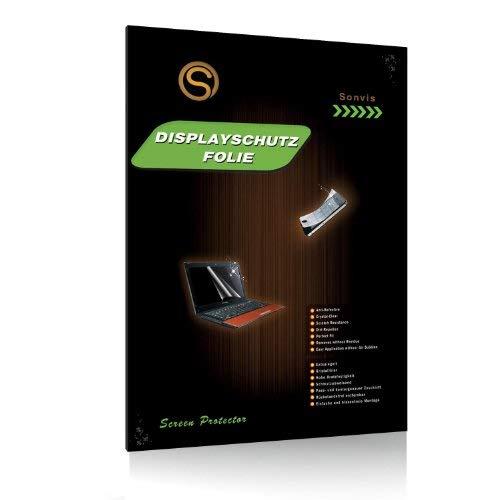 Displayschutzfolie für Laptop 15,4 Zoll [332 x 208 mm] 16:10 matt entspiegelnd Anti Reflektion 15.4 Im Laptop