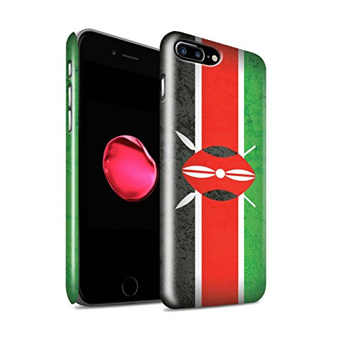 Clipser Brillant Coque de Stuff4 / Coque pour Apple iPhone 5/5S / Cap-Vert Design / Drapeau Africain Collection Kenya/Kenyan