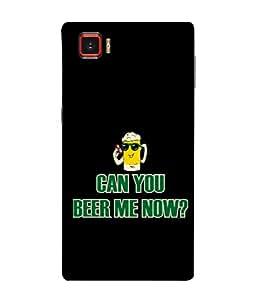 PrintVisa Beer Addict 3D Hard Polycarbonate Designer Back Case Cover for Lenovo Vibe Z2 Pro :: Lenovo K920 :: Lenovo Vibe Z2 Pro K920