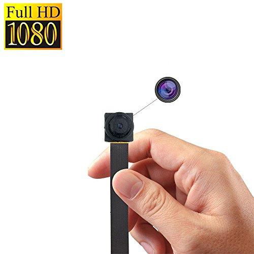 Mini Versteckte Kamera, Zarsson 1080p Tragbar Spionage Nanny Cam Sicherheit Überwachungskamera DV Video Recorder mit Bewegung erkannt Loop Recording, fotografieren und TF Card - Kamera Mini-video-versteckte