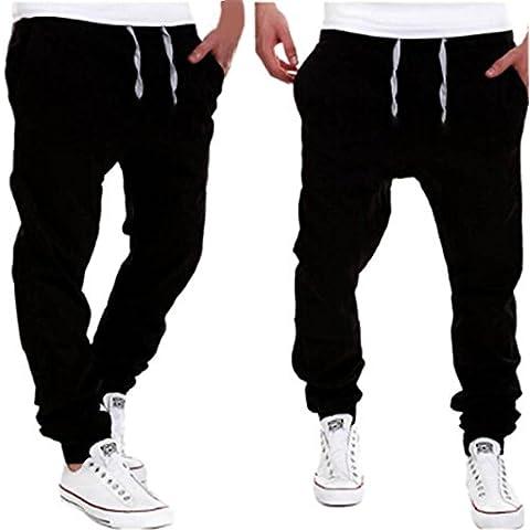 Hombres Pantalones GillBerry Chicos Moda Marea Ocio Ropa Pantalones Casuales Delgado