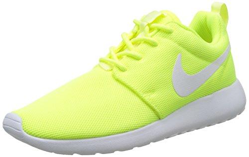 Nike Damen Roshe One Sneakers Gelb (volt/white-barely Volt)