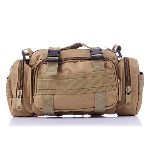 LF&F Backpack Camouflage multifunktionale militärische Fans Freizeitsportarten taktische Taschen Schulterkameras Rucksäcke Angriffspakete taktische Operationen Rucksacktaschen C