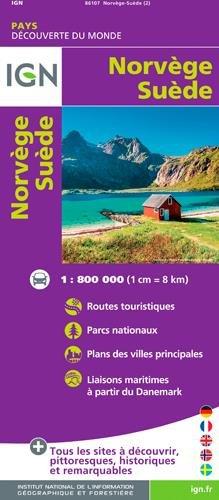 Norway / Sweden par Institut Géographique National