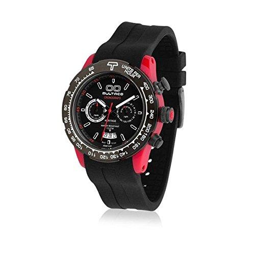 Bultaco H1PR43CCB1 - Reloj Unisex Negr