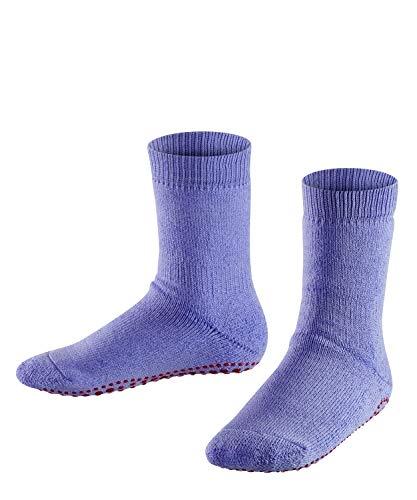 FALKE Kinder Stoppersocken Catspads, Baumwolle/Wollmischung, 1 Paar, Violett (Fingerhut 6996), Größe: 35-38