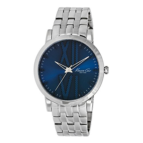 Wristwatch KENNETH COLE WATCH - ELEGANCE SUNRAY BLUE DIAL WITH TEXTURE S/S GENT S/S BRACELET 10014812