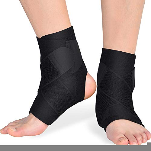 Knöchelbandage, 1 Paar PE-Board Atmungsaktive Unterstützung Protection Corrector -
